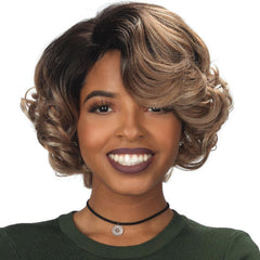 Zury Sis Prime Human Hair Blend Lace Front Wig - NINA