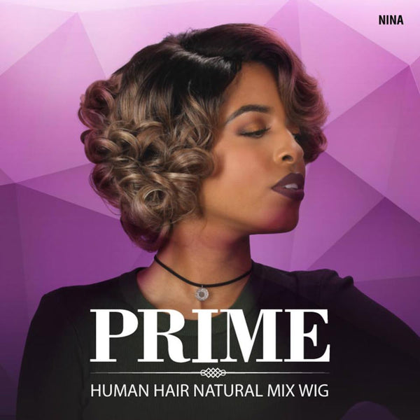 Sis Prime Human Hair Blend Lace Front Wig - NINA