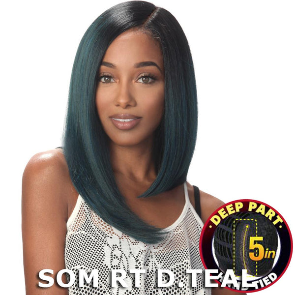 "Sis Slay 5"" Deep Part Lace Front Wig - KAMI"