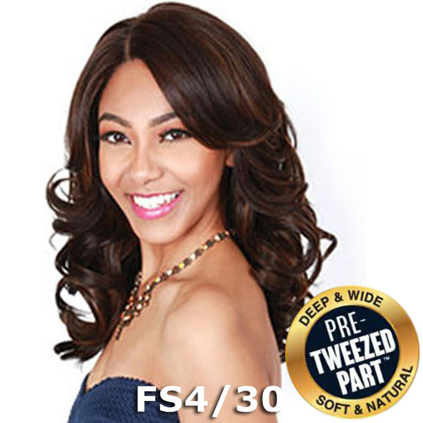 Sis Royal Pre-Tweezed Part Swiss Lace Front Wig - AMRY