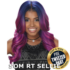 Sis Royal Pre-Tweezed Part Swiss Lace Front Wig - NOVA
