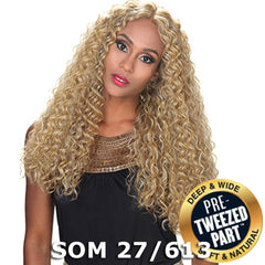 Zury Sis Royal Pre-Tweezed Part Swiss Lace Front Wig - QUEEN