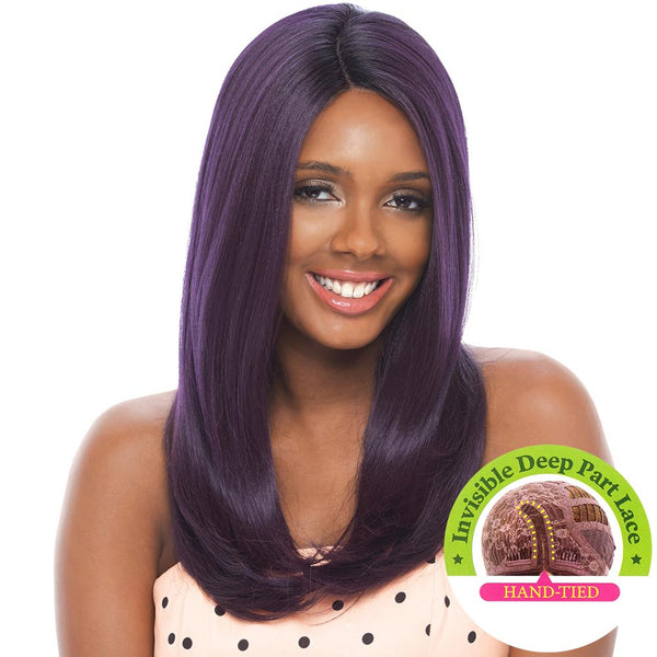 Janet Collection Super Flow Deep Part Lace Wig - OLGA