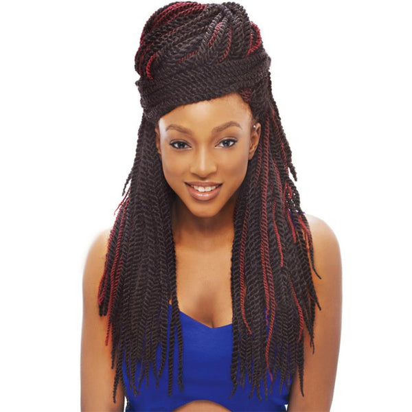 Janet Noir 100% Kanekalon Braid - 2X TANTALIZING TWIST BRAID