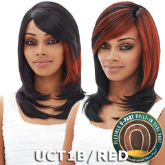 Janet Collection U-Part Wig (Dual Part & Color) - MELISA
