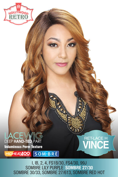 Sis Hollywood Retro Lace Front Wig - VINCE