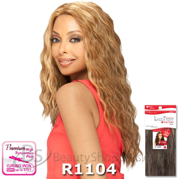 VellaVella Natural Front Lace Wig - FLORA
