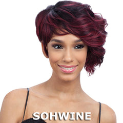 FreeTress Equal Synthetic Hair Green Cap Wig - 010