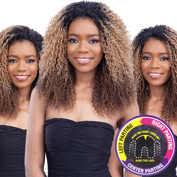 FreeTress Equal 3 Way Lace Part Front Lace Wig - LOGAN