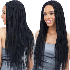 FreeTress Equal Braid Hair Lace Front Wig - SENEGAL TWIST