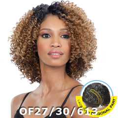 FreeTress Equal Lace Deep Diagonal Part Lace Front Wig - FLOWER BLOSSOM