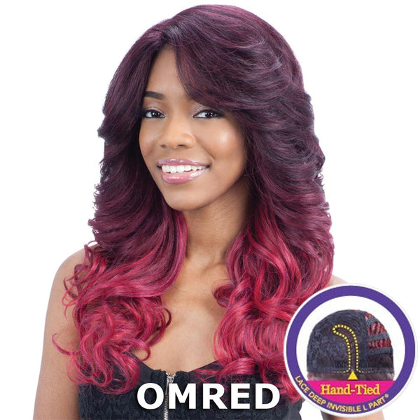 "FreeTress Equal Lace Deep Invisible ""L"" Part™ Lace Front Wig - JULIANNA"