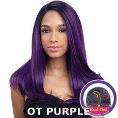 "FreeTress Equal Lace Deep Invisible ""L"" Part Lace Front Wig - JUSTICE"