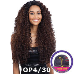 "FreeTress Equal Lace Deep Invisible ""L"" Part Lace Front Wig - KITRON"