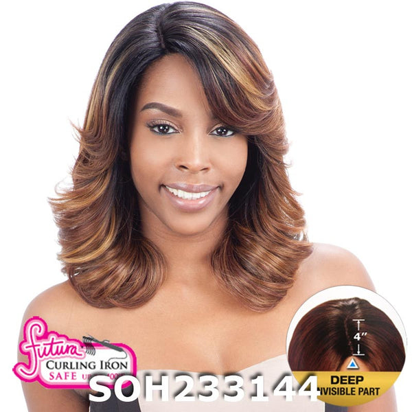 "FreeTress Equal 4"" Deep Invisible Part Lace Front Wig - LONA"