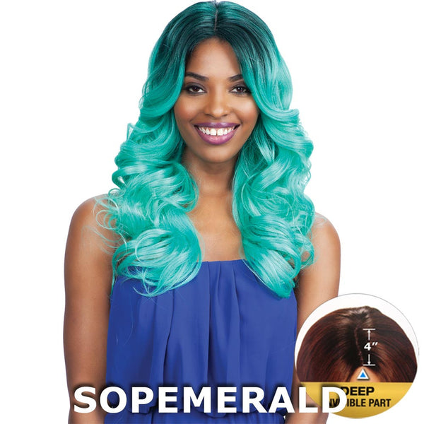 "FreeTress Equal 4"" Deep Invisible Part Lace Front Wig - MACKENZIE"