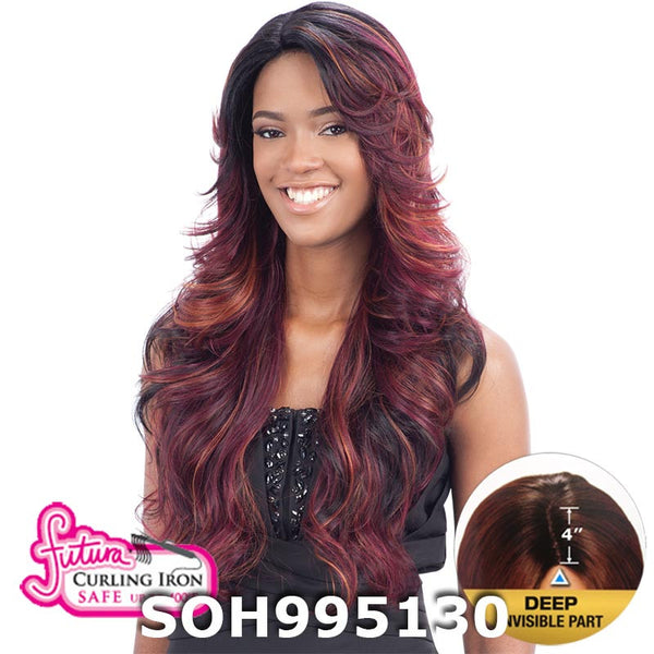 "FreeTress Equal 4"" Deep Invisible Part Lace Front Wig - MIZZY"