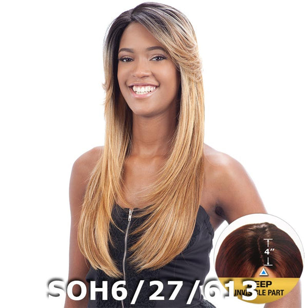 "FreeTress Equal 4"" Deep Invisible Part Lace Front Wig - PATSY"