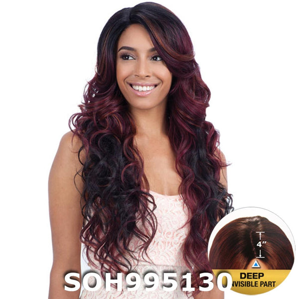 "FreeTress Equal 4"" Deep Invisible Part Lace Front Wig - TANZIE"