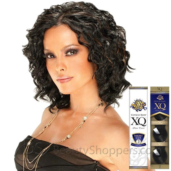 Cuticle Remy XQ Human Hair Weave - ENVY TWIST REMY 3 PCS