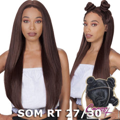 Zury Sis 360 Cross Part Lace Front Wig - STRAIGHT