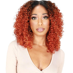 Zury Sis NaturaliStar ThinTop Synthetic Hair Lace Front Wig - Semi