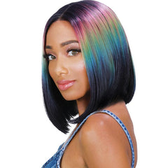 Zury Sis Beyond Side Hand-Tied Part Lace Front Wig - BEN
