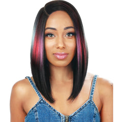 Zury Sis Beyond Side Hand-Tied Part Lace Front Wig - Ben Long
