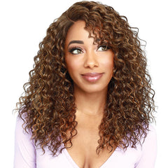 Zury Sis Beyond Layered Curtain Bang Lace Front Wig - Edty