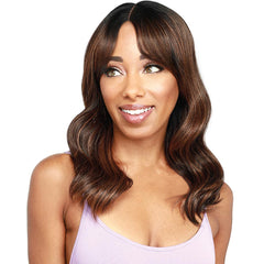 Zury Sis Beyond Layered Curtain Bang Lace Front Wig - Tomi