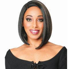 Zury Sis Fit Cap Synthetic Hair HD Lace Front Wig - PINA 12""