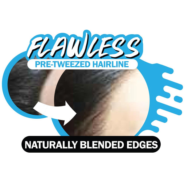 Zury Sis Flawless Pre-Tweezed Hairline Lace Front Wig - MARA