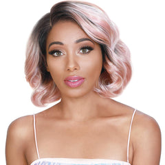 Zury Sis Royal Flawless Pre-Tweezed Hairline Lace Front Wig - TEVA
