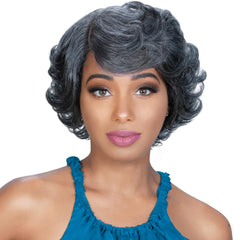 Zury Sis Unprocessed Human Hair Lace Front Wig - MAY