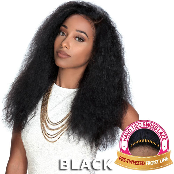"Sis Unprocessed Human Hair 13""X4"" Free-Parting Lace Front Wig - LIBRA"