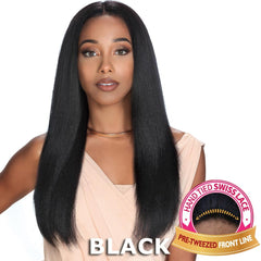 "Zury Sis Unprocessed Human Hair 13""X4"" Free-Parting Lace Front Wig - LYRA"