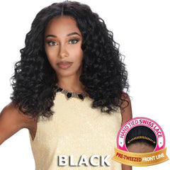 "Zury Sis Unprocessed Human Hair 13""X4"" Free-Parting Lace Front Wig - ORION"