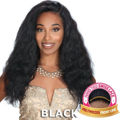 "Zury Sis Unprocessed Human Hair 13""X4"" Free-Parting Lace Front Wig - VIRGO"