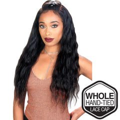 "Zury Sis Unprocessed Brazilian Remy Hair Whole Lace Wig - LOOSE WAVE 26"" (Wet & Wavy)"