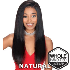 Sis Unprocessed Brazilian Remy Hair Whole Lace Wig - STRAIGHT 24""