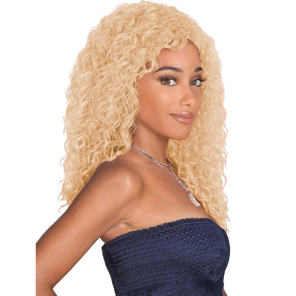 Zury Sis Prime Human Hair Blend Lace Part Full Wig - LUCIA