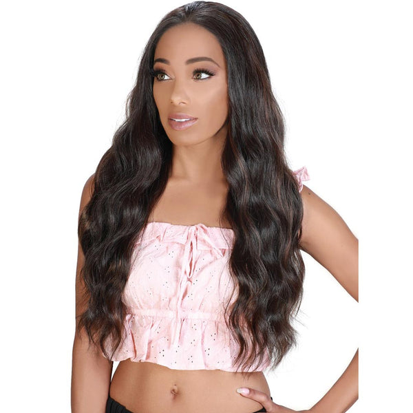 Zury Sis Prime Human Hair Blend Free-Parting Lace Front Wig - JOJO