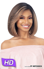 FreeTress Equal Natural Me Pre-Plucked HD Lace Front Wig - Zella