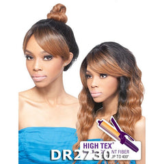 Outre Pre-Styled High Tie Lace Front Wig - SARAH TWIST BURN