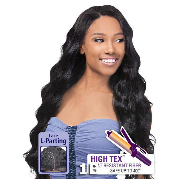 "Outre Synthetic Hair ""L"" Part Lace Front Wig - GRAMMY"