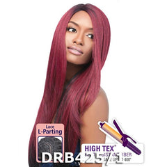 "Outre ""L""- Part Lace Front Wig - NATURAL YAKI 24"""