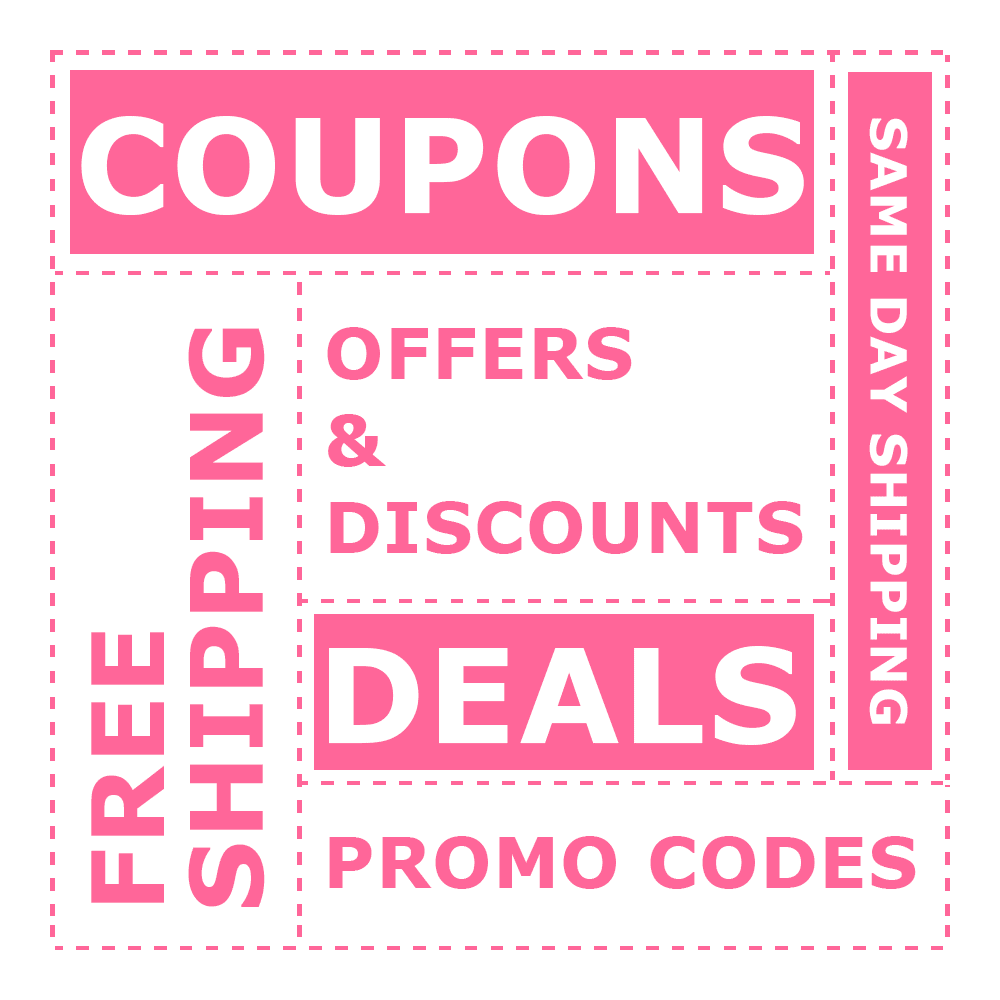 Coupon Codes, Sale Items, Free Offers