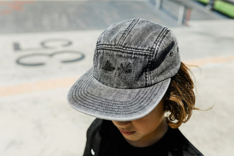 Black Denim Hat