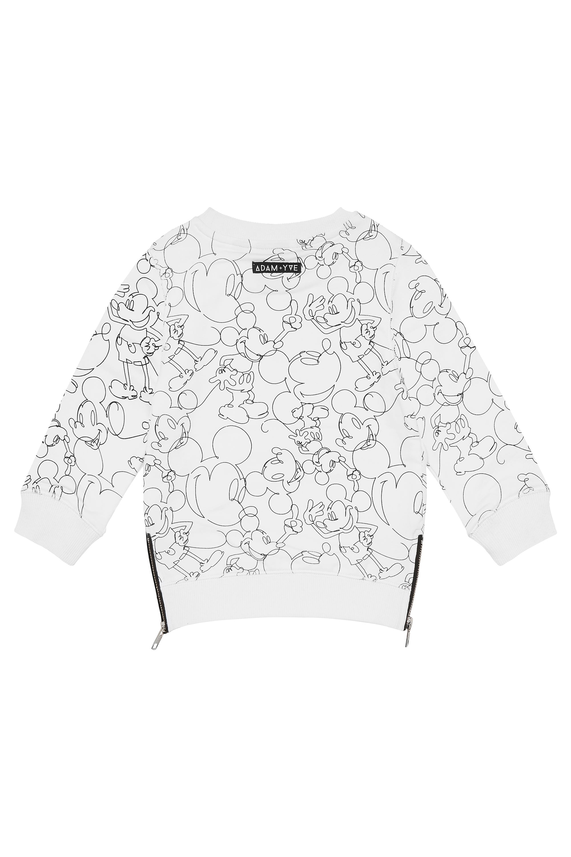 White Mickey Jumper