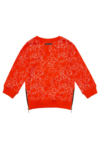Red Mickey Jumper